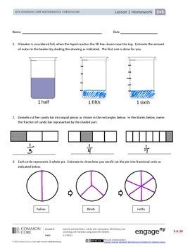 EngageNY (Eureka Math) Grade 3 Module 5 Answer Key