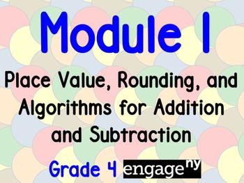 EngageNY Grade 4 Module 1 Flipchart