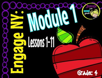 2014 ELA EngageNY 4th Grade Module 1 Unit 1 Lessons 1-9 Common Core