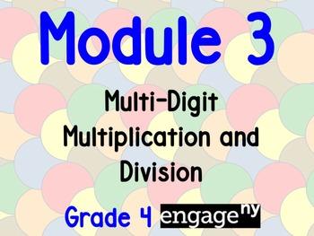 EngageNY Grade 4 Module 3 Flipchart