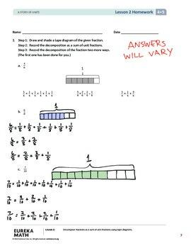 EngageNY (Eureka Math) Grade 4 Module 5 Answer Key