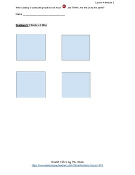 EngageNY Grade 5 Math Lesson 4 Module 3 Classwork