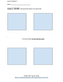 EngageNY Grade 5 Math Module 3 Lesson 3 Classwork