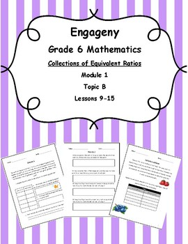 EngageNY Grade 6 Mathematics Module 1-Topic B-Lessons 9-15