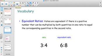 EngageNY - Grade 6 Module 1 Lesson 3 (Equivalent Ratios)