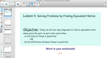 EngageNY - Grade 6 Module 1 Lesson 5 (Solving Problems by Finding Equiv Ratios)