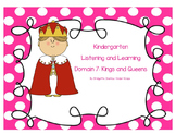 EngageNY Kindergarten Common Core Domain 7: Kings and Queens