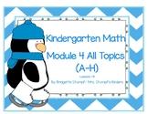 SMARTBOARD EngageNY Eureka Kindergarten Math Module 4 All Topics Lessons 1-41