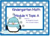 SMARTBOARD EngageNY Eureka Kindergarten Math Module 4 Topic A Lessons 1-6
