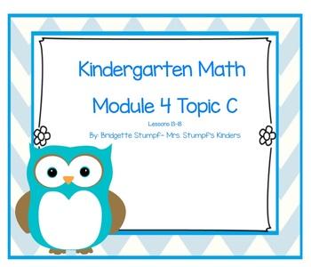 SMARTBOARD EngageNY Eureka Kindergarten Math Module 4 Topic C Lessons 13-18