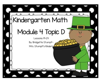 SMARTBOARD EngageNY Eureka Kindergarten Math Module 4 Topic D Lessons 19-24