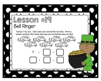 SMARTBOARD EngageNY Eureka Kindergarten Math Module 4 Topic D Lessons 19-24