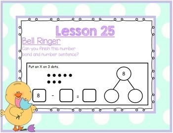 SMARTBOARD EngageNY Eureka Kindergarten Math Module 4 Topic E Lessons 25-28