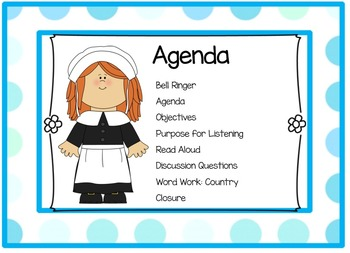 EngageNY Listening and Learning Kindergarten Domain 10: Colonial Towns