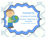 EngageNY Listening and Learning Kindergarten Domain 11: Taking Care of the Earth