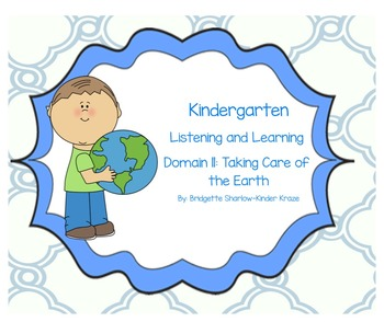 EngageNY Listening and Learning Kindergarten Domain 11: Ta