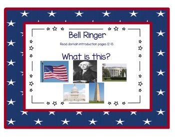EngageNY Listening and Learning Kindergarten Domain 12: Presidents & Symbols