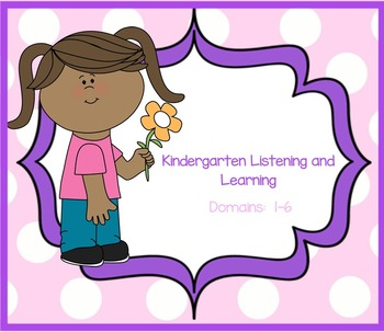 EngageNY Listening and Learning Kindergarten Domains 1-6