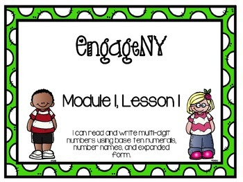 EngageNY Math 4th Grade Module 1, Lesson 1