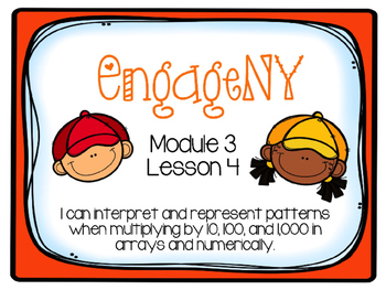 EngageNY Math 4th Grade Module 3, Lesson 4