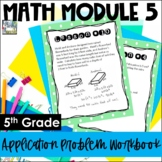 5th Grade EngageNY/Eureka Math Module 5 - Application Prob