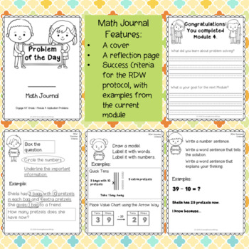 EngageNY Math Journal Grade 1 Bundle