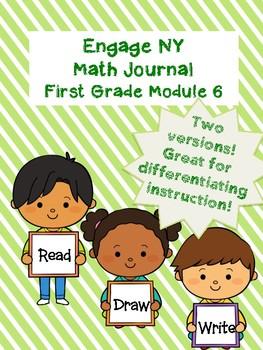 EngageNY Math Journal Grade 1 Module 6