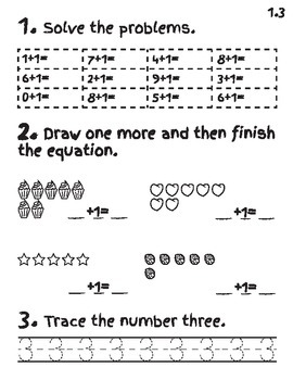 EngageNY Math Module 1 Lessons 1-5 Worksheets