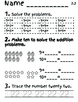 EngageNY Math Module 2 Lessons 1-5 Printables
