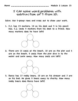 EngageNY Math Module 2 Supplemental Materials Lessons 11-15