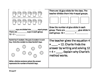 EngageNY Math Review Task Cards