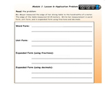 EngageNY Module 1 Lesson 6 Smart Notebook Interactive lesson