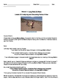 EngageNY: Mod1, Unit 1 Long Walk to Water  Lesson 3 Student Work Packet
