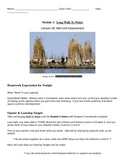 EngageNY: Mod1, Unit 1 Long Walk to Water Lesson 8 Student Work Packet