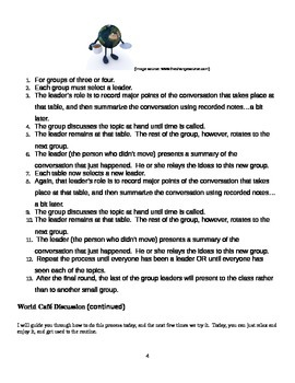 EngageNY: Mod1, Unit 1 Long Walk to Water Lesson 9 Student Work Packet