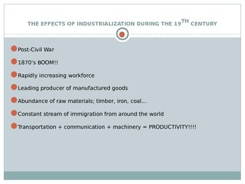 EngageNY: Module 2A (Lyddie), Unit 1 Background Info - Industrial Revolution