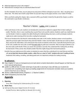 EngageNY: Module 2A (Lyddie), Unit 1 Lesson 3: Modeling Strategies