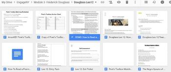 EngageNY: Module 3 (F. Douglass), Unit 1 Les 12
