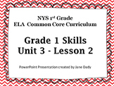 EngageNY -NYS Common Core ELA Skills 1st Grade Unit 3 Lesson 2