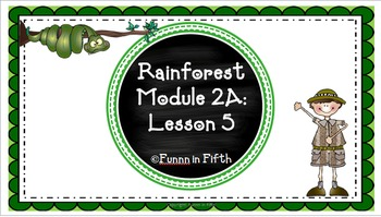 EngageNY PPT Fifth Grade: ELA Module 2A Unit 2 Lesson 5 w/
