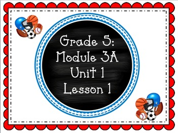 EngageNY PPT Fifth Grade ELA Module 3A: Unit 1 Lesson 1 w/ Supporting Materials