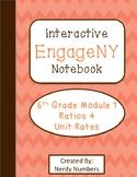 EngageNY Ratios & Unit Rates Module 1 6th Grade Math Inter