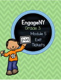 EngageNY Third Grade Module 5 Exit Tickets 1-29