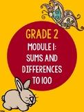 EngageNY Woodland Math Terminology/Vocabulary Posters Grad
