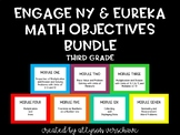 EngageNY and Eureka Math Objectives, ALL MODULES, Third Grade