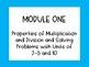 EngageNY and Eureka Math Objectives, Module 1, Third Grade