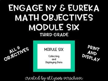 EngageNY and Eureka Math Objectives, Module 6, Third Grade