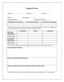 EngageNY Math Module Assessment Record Sheet K-8