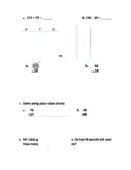 EngageNY/Eureka Math Grade 2 Module 4 Assessment