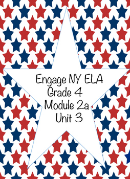 Engage NY ELA, Grade 4, Module 2a, Unit 3, Colonial America